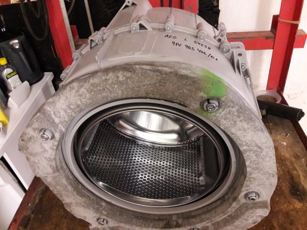 AEG L54638, Bottich komplett, ohne elektrisch Bauteile,gebrauchtes Ersatzteil,Waschautomat,Waschmaschine,Trommel,Erkelenz